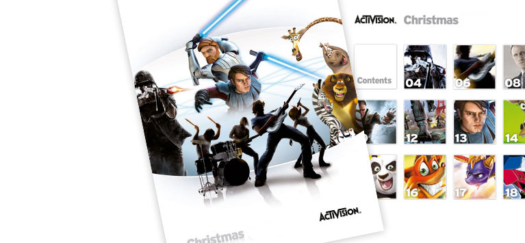 Activision christmas brochure
