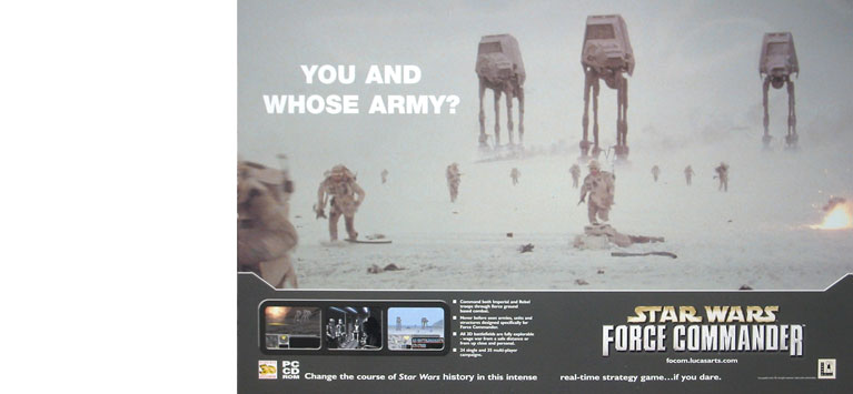 StarWars double page ad